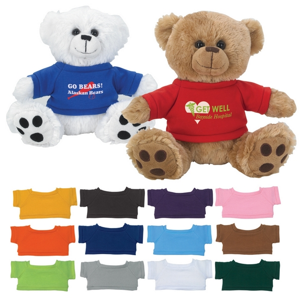 Business Gifts Customized Logo Stuffed Soft Bear Toys Plush