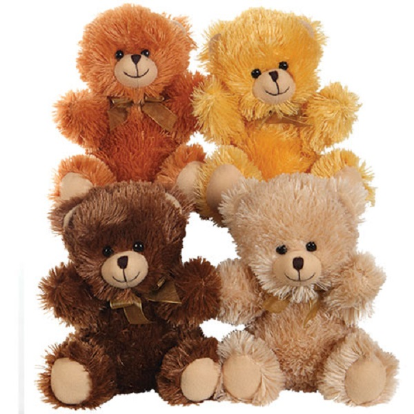 cute stuffed plush stitting teddy bears