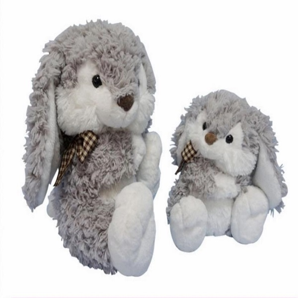 OEM wholesale stuffed bunny for Easter day decor plush animal easter rabbit