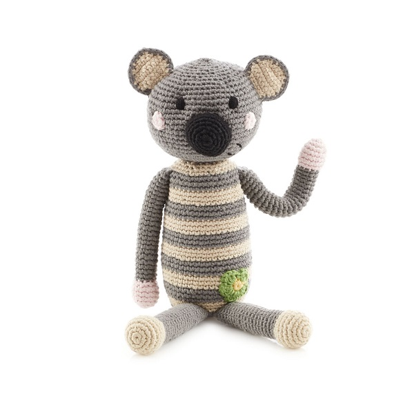 Wholesale factory direct China handmade knitted Crochet Koala soft toys