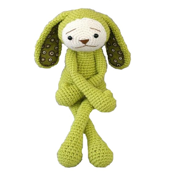 Custom China handmade Soft Amigurumi bunny toy Crochet rabbit knitted toys